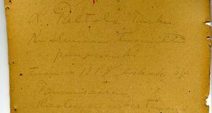 Kuolemaantuomitun L. Peltolan seinäkirjoituksista yksi on nykyisin Työväenmuseo Werstaan kokoelmissa. Kahdesta muusta kirjoituksesta museoon asti on tiensä löytänyt vain valokopiot.