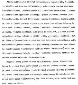 Naiset sotatapahtumissa. Muistelija: Kaija J., syntymäaika ei tiedossa. Kansan Arkisto.