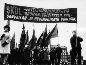 Vappukulkue Helsingissä 1969
