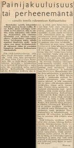 Vapaa Sana 19.7.1956